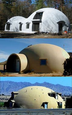 Monolithic dome. My dad was a certified builder and built his own.