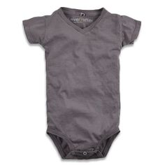For tiny hipster babies - ever/after short sleeve v-neck one-piece
