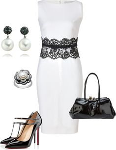 """""""Black and White"""" by mrsbro on Polyvore"""