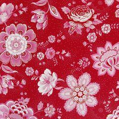 Pip Studio - Folklore Chintz Wallpaper - 341011 Red