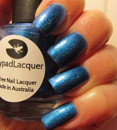 Lilypad Lacquer Hotel Clerks (custom for the Lilypad Lacquer Lovers facebook group - February 2015). Pinned from Gretchen Kushner