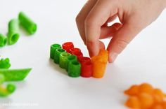 Crafts for kids - How to make your own coloured pasta