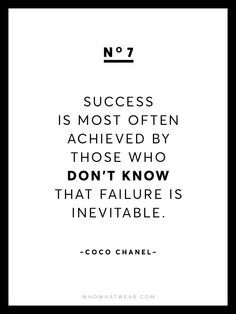 Fashion Quotes : Picture DescriptionKnown for her chic and empowering words of wisdom, we're sharing 13 rare Coco Chanel quotes because after all, she is the queen of fashion. Motivational Quotes For Women, Great Quotes, Quotes To Live By, Me Quotes, Inspirational Quotes, Simply Quotes, Fashion Designer Quotes, Fashion Quotes, The Words