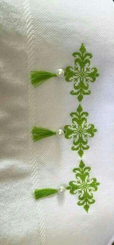 Kaneviçe havlu kenarı