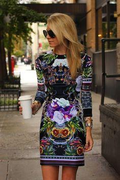 statement dress <3