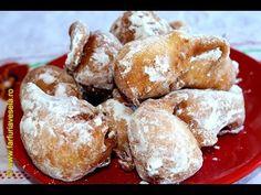 Gogosi turnate cu lingura | Farfuria vesela - YouTube Pretzel Bites, French Toast, Sweet Tooth, Muffin, Sweets, Bread, Breakfast, Desserts, Food