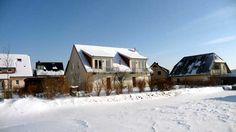 Winterliche Ruhe im Seebad Kölpinsee / Loddin auf der Insel Usedom