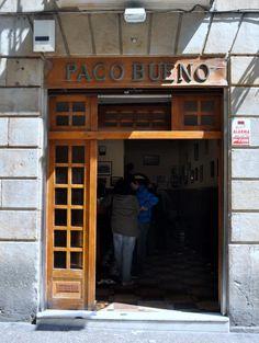 The best pintxos bars in San Sebastian, Spain: Paco Bueno