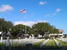 St. Augustine National Cemetery - St. Augustine, Florida.