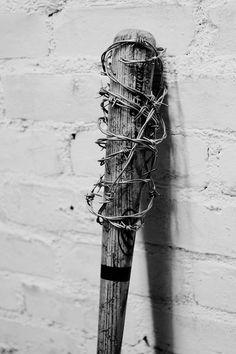 Baseball bat I made for a photo shoot.