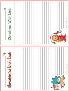Printable Christmas List Template 100 Free Christmas Printables  Holiday List Free Printable And .