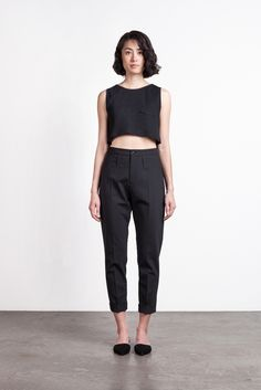 Image of Edith A. Miller Julia Crop Top