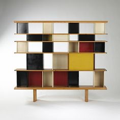Jean Prouve Perriand Delaunay Mexique Bookcase