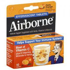 FREE 4 Pack Airborne Samples http://sendmesamples.com/free-4-pack-airborne-samples-2/