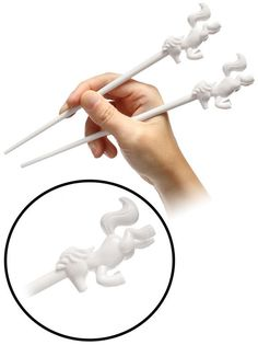 Unicorn chopsticks.  Great gift idea for a sushi lover like myself