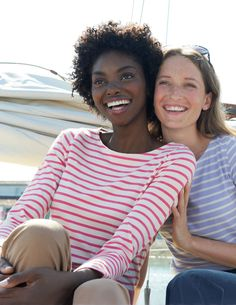 The beautiful and classic Breton Top.