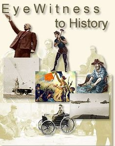 EyeWitness to History - history through the eyes of those who lived it. A good website for Social Studies 4th Grade Social Studies, Social Studies Classroom, Social Studies Resources, History Classroom, Teaching Social Studies, Teacher Resources, Teaching Us History, History Teachers, History Education