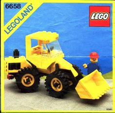 Thousands of complete LEGO building instructions by theme. Here you can find step by step instructions for most LEGO sets. All of them are available for free. Vintage Lego, Lego Design, Lego Duplo, Lego Bulldozer, Lego Cars Instructions, Lego City Sets, Lego Ship, Free Lego, Lego Building