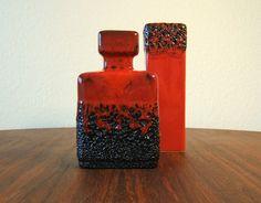Rectangular Vintage Vase by Jopeko Keramik  by FabulousModerns