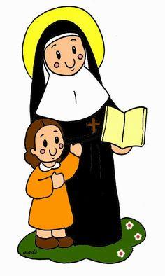 Mis ilustraciones: Santa Juana de Lestonnac