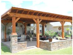 There are lots of pergola designs for you to choose from. You can choose the design based on various factors. First of all you have to decide where you are going to have your pergola and how much shade you want. Small Pergola, Pergola Attached To House, Pergola Swing, Outdoor Pergola, Backyard Pergola, Patio Roof, Backyard Landscaping, Modern Pergola, Pergola Shade