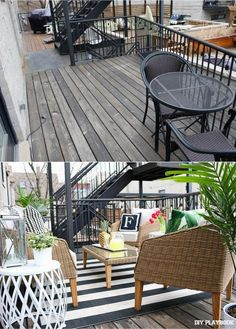 Caseyu0027s Patio Gets A Brand New Look! Come Check Out This Outdoor City Space  Redesigned