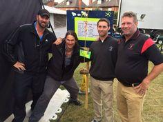 The Boring dynasty - Sean, Chris, Jim IV, Jim III at Brit Open 2014
