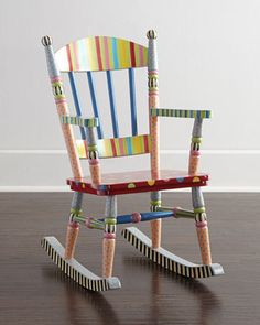 Wee Rocking Chair by MacKenzie-Childs at Neiman Marcus.