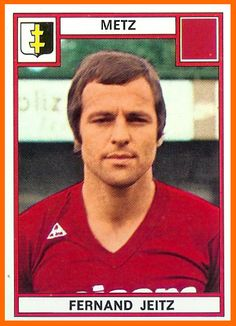 Fc Metz, 1975, Old School, Baseball Cards, Electronics, Sports, Image, Football, Football Soccer