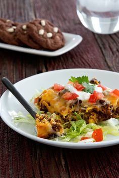 impossibly easy taco pie impossibly easy taco pie and mexican hot ...