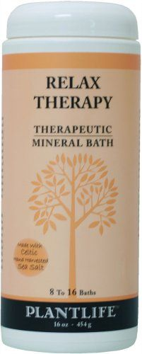 Relax Therapeutic Mineral Bath Salt  16oz ** Want additional info? Click on the image.