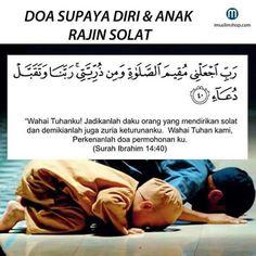 Doa anak & diri sendiri