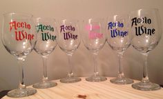 Accio Wine Glass, $10.50 | 19 Things Everyone Who Loves Harry Potter And Booze Needs To Own