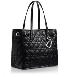 d6d007b86504 Shopper Dior Panarea nera Christian Dior Purses
