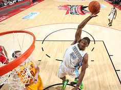 Kenneth Faried wins MVP for Rookie/Sophomore Game