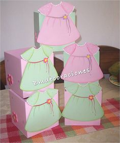 Centros de Mesa Baby Shower by Blanca_vero, via Flickr