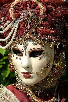 """Venetian Mask....""""I am not what I am""""?"""