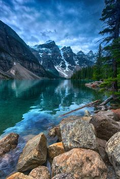 ~~Icon | Moraine Lake is truly one of Canada's icons, Banff National Park | by Bob Bittner~~