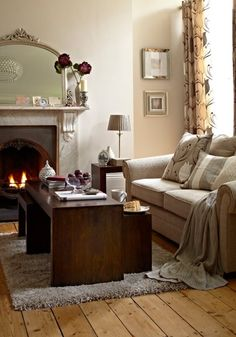cosy living room - like this a lot! Cosy Living Room, Home And Living, Home Living Room, Home, Interior, Living Room Accessories, Cozy Living Rooms, Country House Decor, Room
