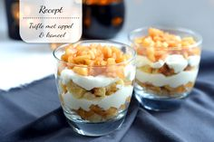 Trifle met appel & kaneel