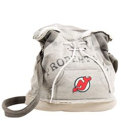 "New Jersey Devils Nhl ""property Of"" Hoodie Duffel"