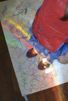 Light inspiration from our art studio
