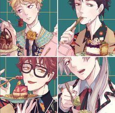 anime, luciel, and seven 이미지
