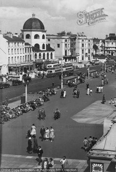 Photo of Worthing, Marine Parade from Francis Frith British Seaside, Worthing, Brighton And Hove, Great British, Vintage Images, Black And White Photography, Old Photos, Street View, History