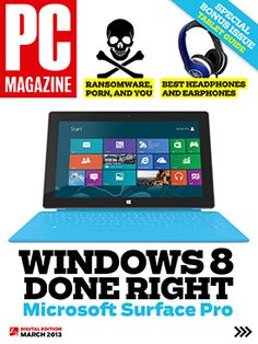 The March 2013 Digital Edition of PC Magazine Is Out Now!