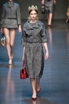 Dolce & Gabbana at Milan Fall 2013