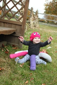 A Young Wife's Tale: Baby Octopus Costume DIY: It is 100% free! Once Halloween is over, it can be disassembled and everything can be used again! Now that's my kind of costume! It also takes no time at all to make