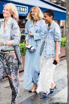 jaquetas jeans street style