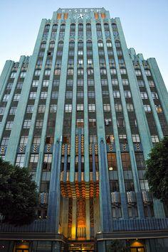 #ArtDeco | Eastern Columbia Building, Los Angeles