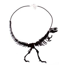 Help Where Can I Buy This Dino Necklace? Geekologie ❤ liked on Polyvore featuring jewelry, necklaces, cocktail jewelry, special occasion jewelry, holiday jewelry and evening jewelry